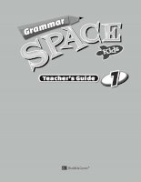 Grammar space kids 1 teacher guide