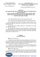 Thông tư 15 2013 TT-BGTVT quy định về biểu mẫu giấy chứng nhận và sổ kiểm tra an toàn kỹ thuật và bảo vệ môi trường