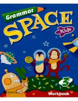 Grammar space kids 3 workbook