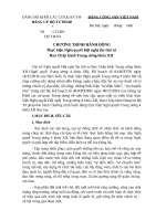 Du thao Chuong trinh hanh dong thuc hien NQ TW 4 khoa XII 29.12