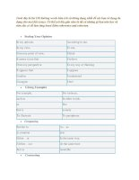 138 linking words for IELTS