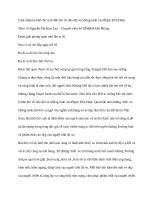 Cảm nhận ba khổ thơ cuối bài thơ về tiểu đội xe không kính của phạm tiến duật