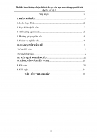 SKKN Thiết kế theo hướng nhận thức tích cực của học sinh thông qua tiết bài tập lịch sử lớp 8