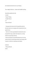 Cảm nhận khổ 2 bài thơ nói với con của y phương