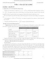 TỔNG HỢP LÝ THUYẾT HÓA Học 10 - 11 - 12