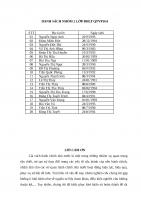 Cải cách hành chính tại Ủy ban Nhân dân xã Vân Canh huyện Hoài Đức thành phố Hà Nội.