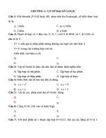 Ngân Hàng Đề Môn Điện Tử Số    Kỹ Thuật số ( có đáp án)