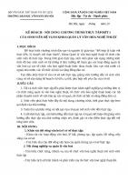 Đợt 1 Mẫu văn bản thực tập Hệ Vừa làm vừa học