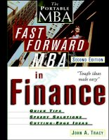 Brian tracy   the fast forward MBA in finance, 2nd ed  (wiley, 2002)