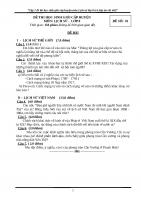 Tập 7 đề thi học sinh giỏi cấp huyện môn lịch sử  lớp 8 (có đáp án chi tiết)