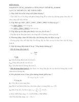 63 câu hỏi đồ án  cho sinh viên điện