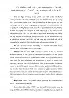 MỘT số bất cập về trách nhiệm bồi thường của NHÀ nước TRONG HOẠT ĐỘNG tố TỤNG HÌNH sự (2)