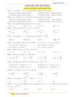 toanmath com   tuyển tập 235 bài tập trắc nghiệm số phức có lời giải chi tiết