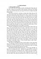 Khóa luận Tốt nghiệp Trung cấp lý luận Thực trạng và giải pháp nâng cao chất lượng sinh hoạt chi bộ Trường Tiểu học Nguyễn Huệ thuộc đảng bộ xã Ea Bar, huyện Buôn Đôn, tỉnh Đắk Lắk giai đoạn hiện nay