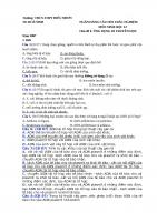 Chủ đề 8  ỨNG DỤNG DI TRUYỀN học