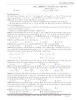 đề 05 06 thi thử vật lý THPTQG 2018