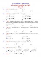 QG2018 d7 Đề ôn chắc điểm 8 môn toán số 8