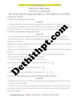 Chương 6 ôn tập kiểm tra vật lý 10    chủ đề 20  thuyết động học phân tử chất khí  cấu tạo chất