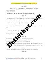 Chương 4 ôn tập kiểm tra vật lý 10    chủ đề 16 động năng, thế năng, định luật bảo toàn cơ năng