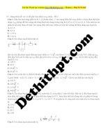 13   dùng giản đồ véc tơ để giải toán điện xoay chiều   đề 2