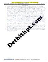 Tuyển tập lý thuyết vật lý 12   chương 4 dao động điện từ