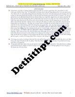 Tuyển tập lý thuyết vật lý 12   chương 1 dao động cơ