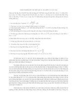 Bộ 6 đề thi thử THPT quốc gia môn vật lý có đáp án