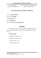 Đồ án CÔ ĐẶC (NH4)2SO4 ống tuần hoàn TRUNG TÂM
