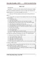 Kế toán tập hợp chi phí sản xuất và tính giá thành sản phẩm tại Công ty TNHH Trí Đức