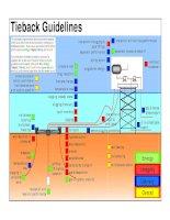 Tie back guideline Field Development Architecture Selection