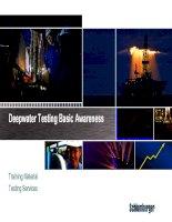 ts deepwater basic awareness (training package)