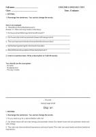 E6 viết unit 12