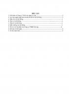 Tiểu luận phân tích hệ thống kinh tế  cao học KTXD  đh XD