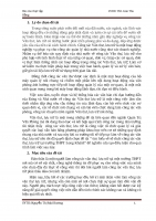 BC thực tập công tác văn thư lưu trữ tại trường THPT Long Khánh
