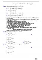 Trắc nghiệm phần 7 các hàm số lượng giác