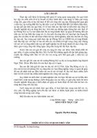 báo cáo thực tập tại (công tác văn thư lưu trữ tại phòng nội vụ UBND thị xã long KHánh)