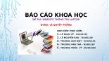 Phương pháp nghiên cứu khoa học CNTT đề tài Website thông tin Laptop