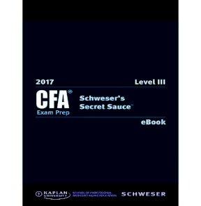 2017 CFA level 3 secret sauce 1