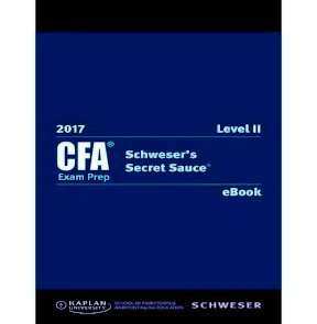 2017 CFA level 2 secret sauce