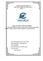 báo cáo thực tập tốt nghiệp tại trung tâm điều khiển xa công ty Điện Lực Thái Nguyên