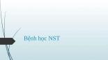 Bệnh học NST autosaved