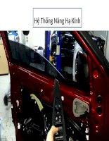 Tổng quan về hệ thống nâng hạ kính trên xe ô tô