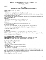Giáo án địa 8 soạn theo tập huấn mới 5 hoạt động