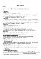 Giáo án địa 9 soạn theo tập huấn mới 5 hoạt động