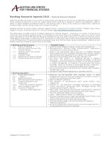 banking research reference group topics