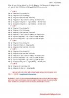 Unit 7  Bài tập trắc nghiệm Tiếng Anh 6  Tập 2 (Đại Lợi  Bùi Văn Vinh)
