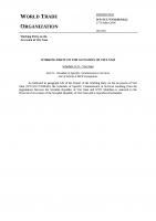 Biểu cam kết dịch vụ của VN khi gia nhập WTO  English version