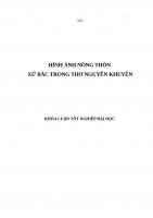 HINH ANH NONG THON XU BAC TRONG THO NGUYEN KHUYEN