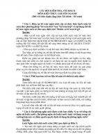CÂU hỏi KIỂM TRA, sát HẠCH môn KIẾN THỨC CHUYÊN NGÀNH THI CÔNG CHỨC HUYỆN ( CHỨC DANH CÔNG CHỨC tài CHÍNH  kế TOÁN)