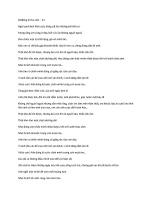 Tổng hợp dịch lyrics ngoại